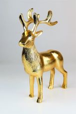 Dekofigur Rudolph Gold