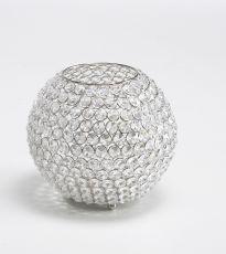 Kristall Kerzenständer Kugel (Größe: L)