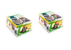 2er Set Ordnungsboxen-Clip Katzen