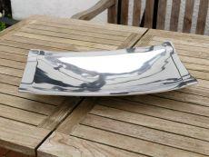 Aluminiumschale Bowl with Feet M -Dekoration, Tischschale