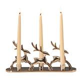 Kerzenständer Rentiere 3er