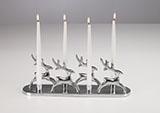 Kerzenständer Rentiere 4er