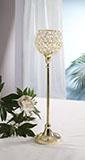 Kerzenständer L Marie  Gold
