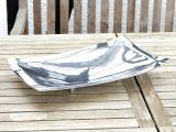 Aluminiumschale Bowl with Feet L -Dekoration, Tischschale